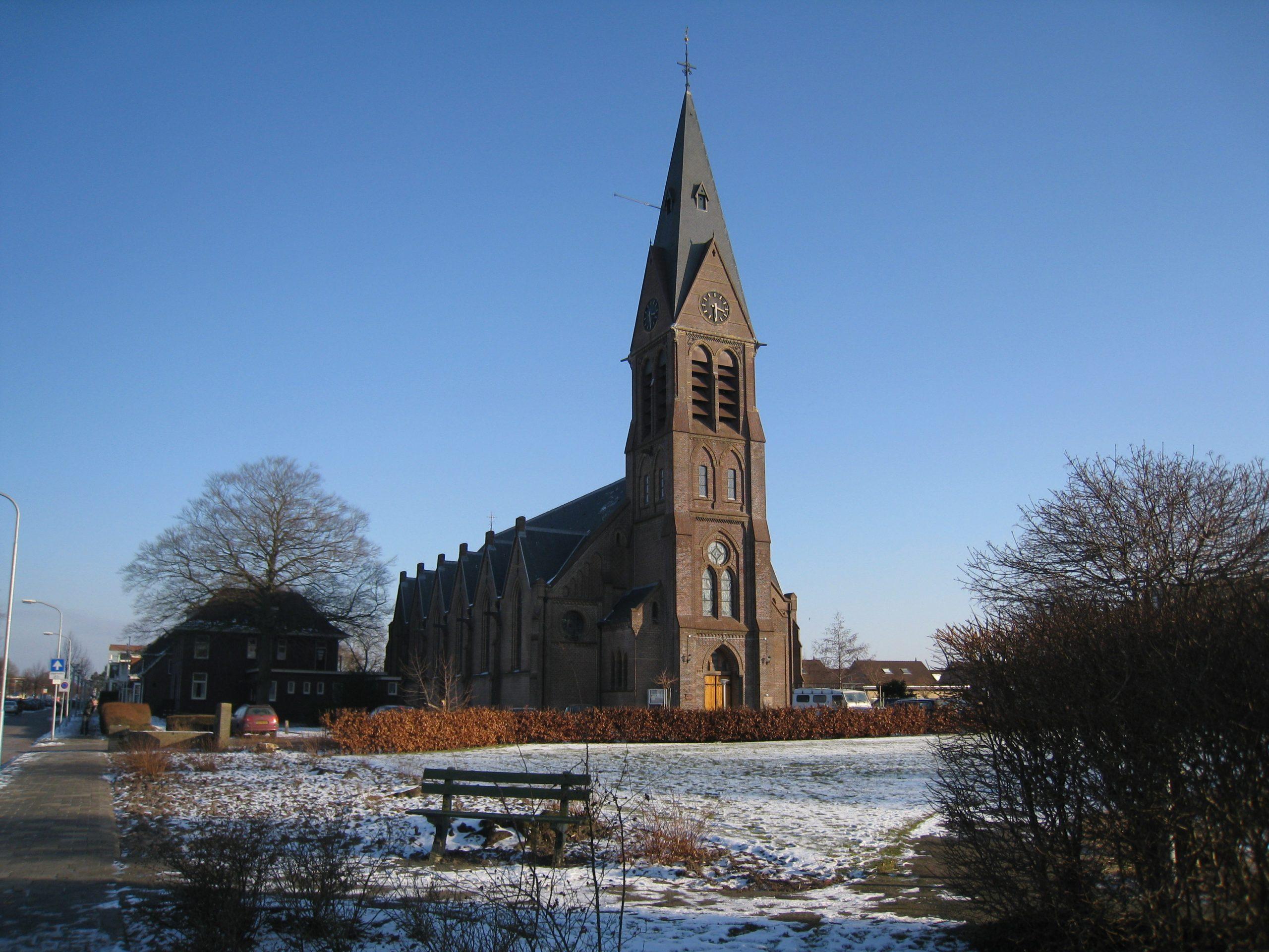 De Sint-Willibrorduskerk te Sappemeer