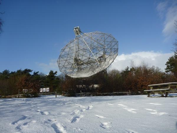 Radiotelescoop te Dwingeloo Holstein Restauratie Architectuur