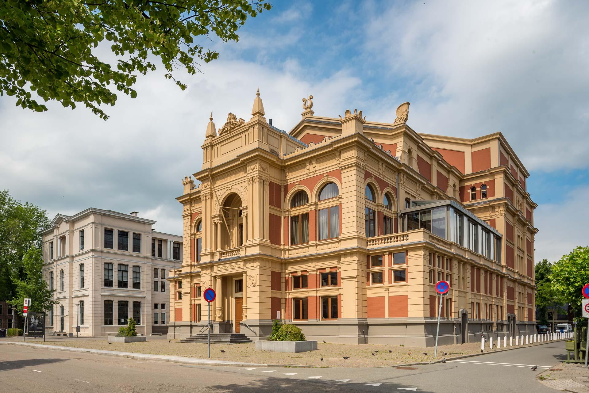 stadsschouwburg Holstein Restauratie Architectuur