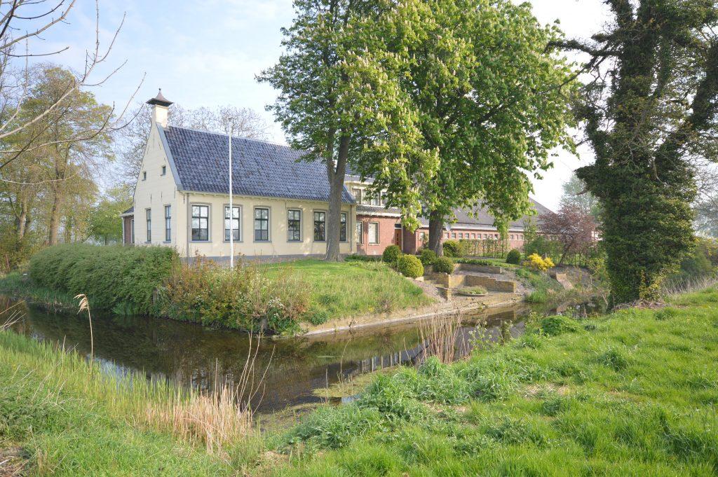 op ter borg Holstein restauratie architectuur