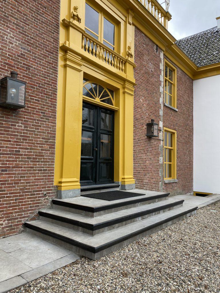 Entree Fraeylemaborg Holstein Restauratie Architectuur