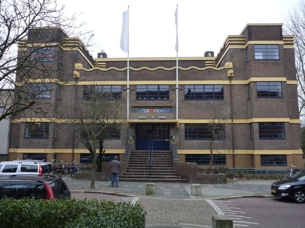 Helperzwembad te Groningen Holstein Restauratie Architectuur