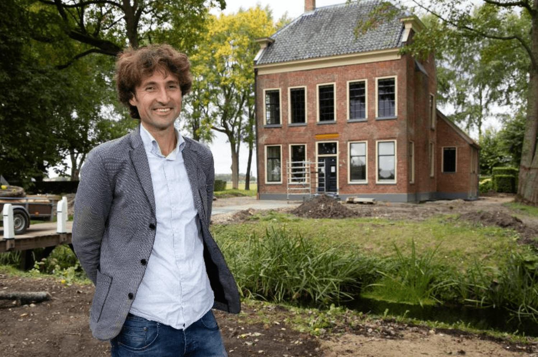 Interview in Nationale Coördinator Groningen - fotografie door Jeroen van Kooten