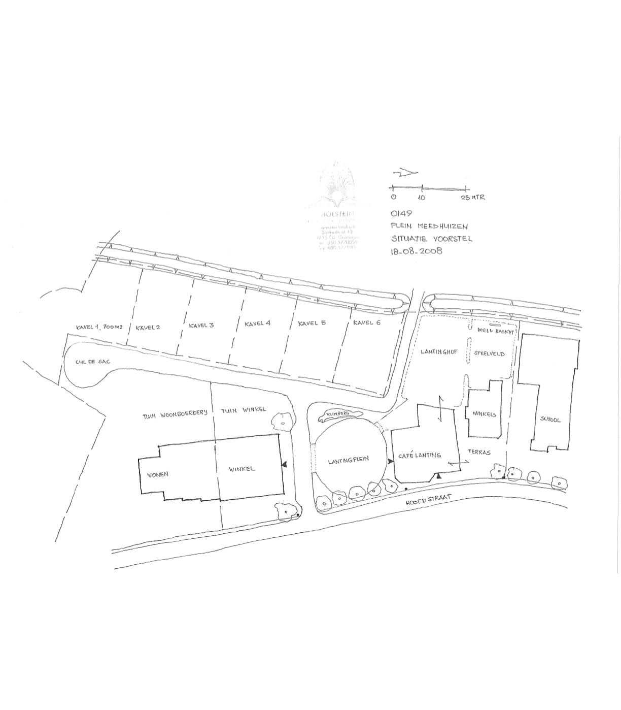 tekening Holstein Restauratie Architectuur