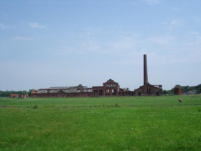 Restauratie strokartonfabriek De Toekomst II te Scheemda Holstein Restauratie Architectuur